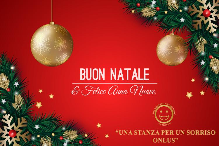 E Buon Natale.Buon Natale E Felice Anno Nuovo Una Stanza Per Un Sorriso